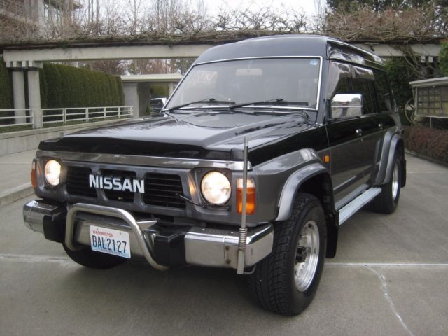 1991 Nissan Safari/Patrol y60 4 2 Diesel 70k miles - Classic 1991
