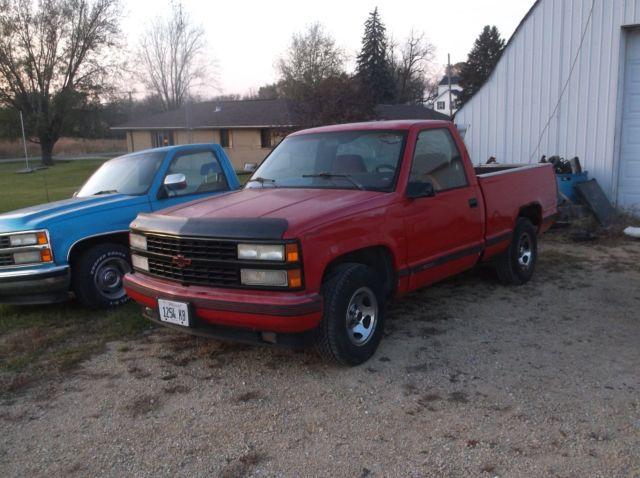 1992 chevy c1500 pickup truck