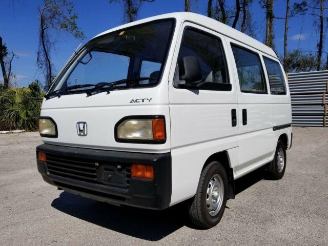1992 Honda Acty Van SDX 5 SPEED
