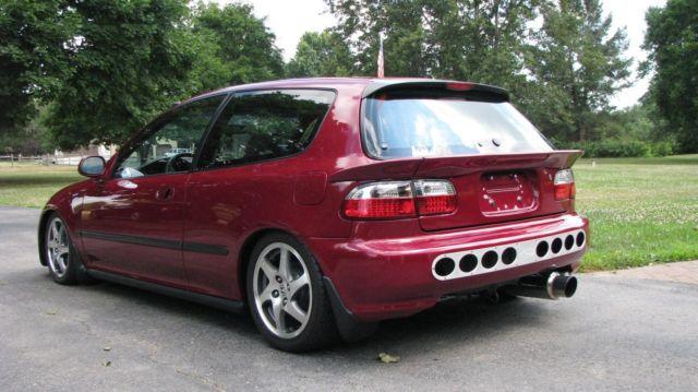 1992 Honda Civic Hatchback DX