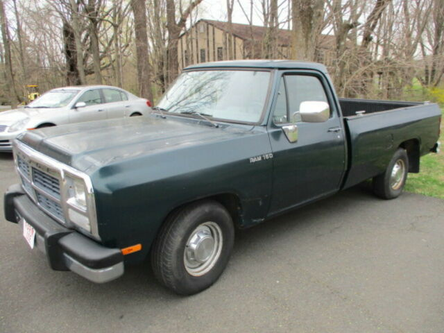 1993 Dodge Ram D150 V6 2wd Automatic Green Pick Up Truck