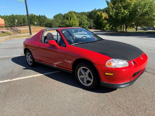 1993 Honda Civic Del Sol Si 1 6 Sohc Vtec Convertible 93 Targa