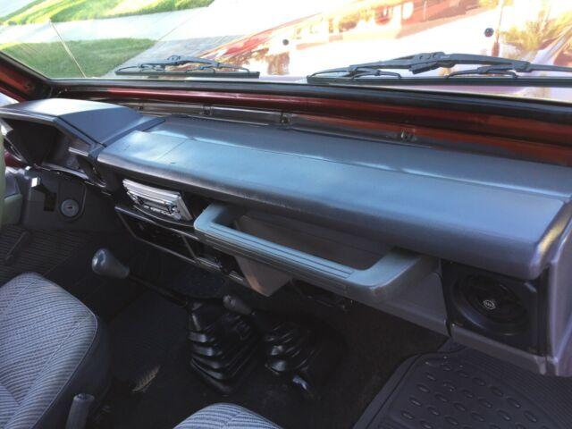 1993 Toyota Land Cruiser Lj73 2 4l Turbo Diesel Engine 4x4 5 Speed