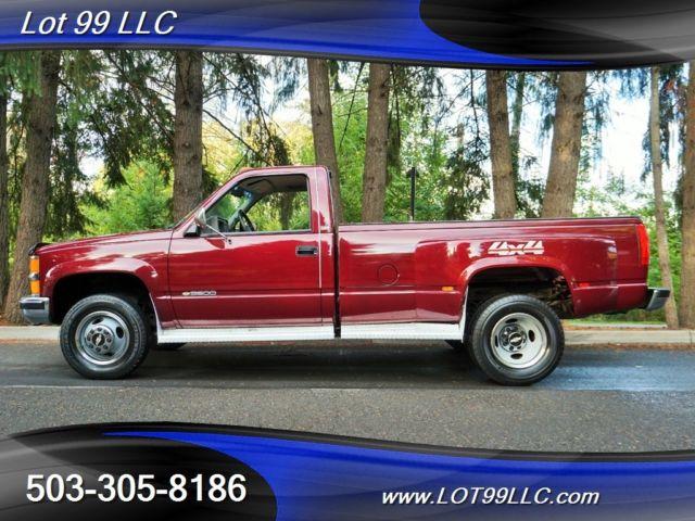 1994 Chevrolet K3500 Silverado 2dr 4X4 454 *DUALLY* 1 OWNER