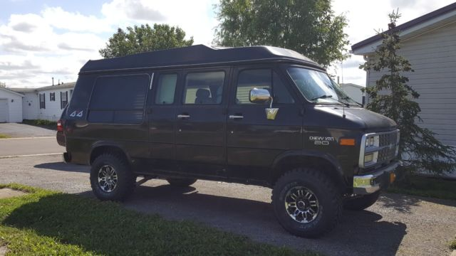 1994 Chevy 4x4 Van G20 Conversion(see details) - Classic 1994