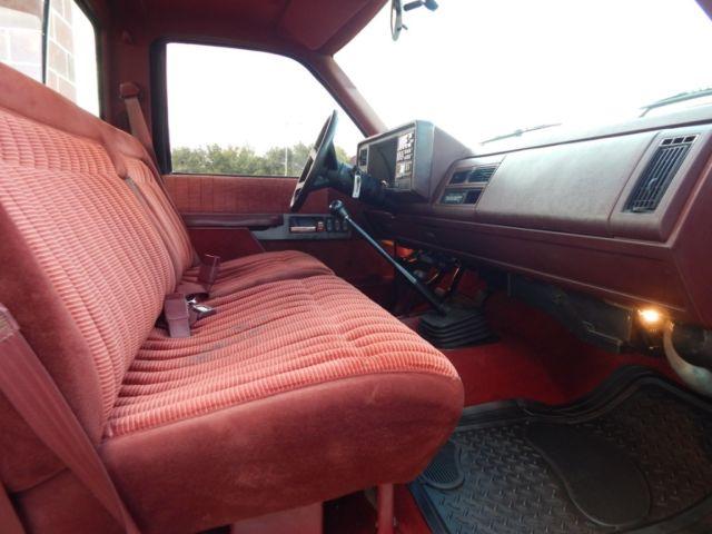 1994 Chevy K3500 Silverado, Reg Cab Dually, Fuel Injected
