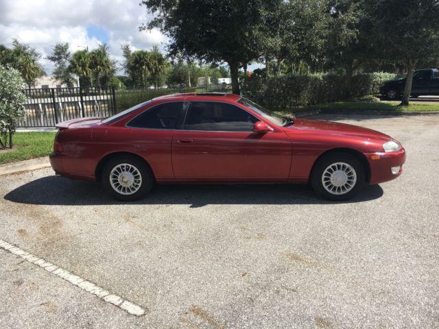 1994 Lexus SC300 original Supra design 2JZ engine & 1 owner