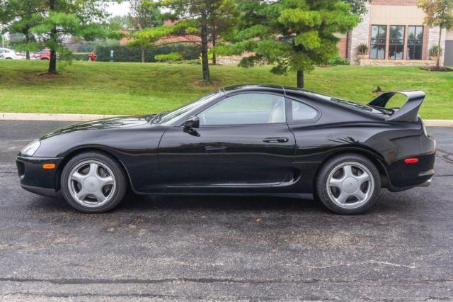 1994 Toyota Supra Black Twin Turbo 6 Speed Manual 39K