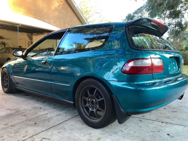 1995 Honda Civic Hatchback Cx B16a2 Engine