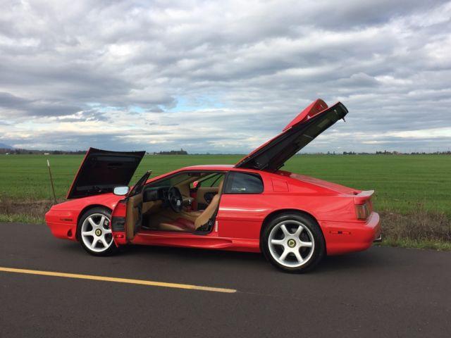 1995 Lotus Esprit S4 Redtan 73k Miles Many Upgrades Classic