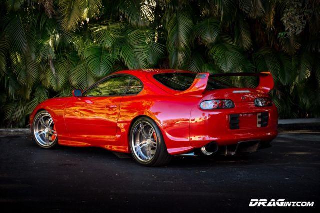 1995 Toyota Supra DRAGint 1275HP Street Show 6 Speed V160
