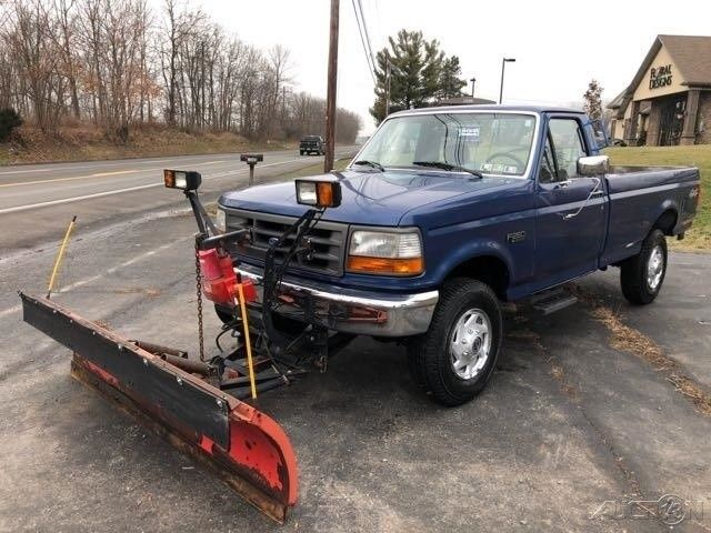 1995 Xl Plow Truck Used 5 8l V8 16v Automatic 4wd Pickup