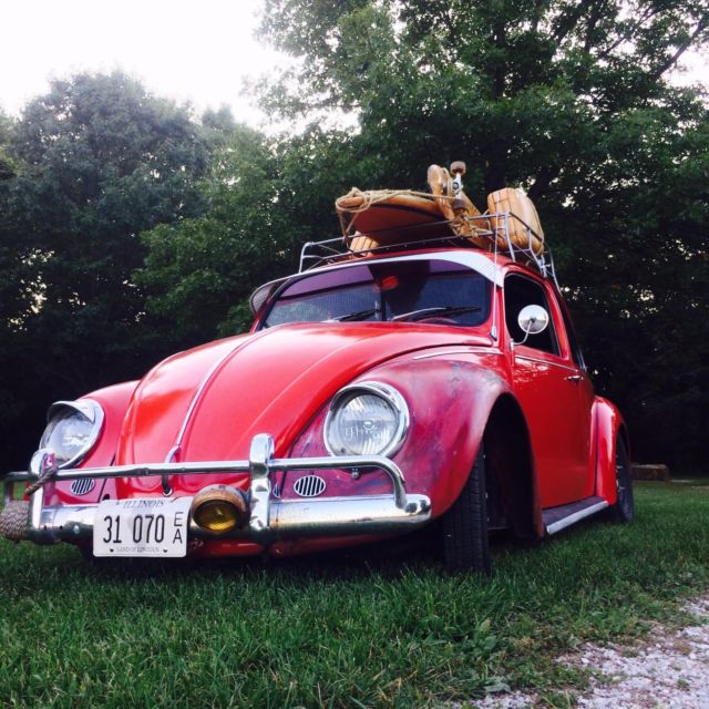 67 VW Beetle- Willwood disc brakes, full front beam, awesome