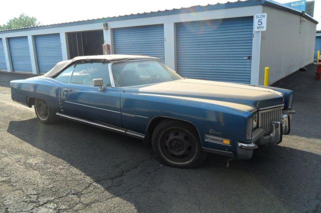 72 cadillac eldorado convertible - Classic 1972 Cadillac Eldorado