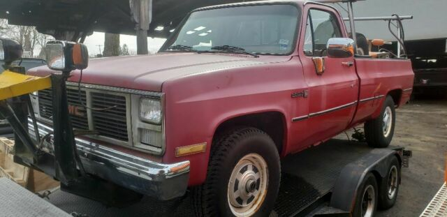 9k ORIGINAL MILE 1985 GMC Chevrolet K20 Silverado Scottsdale