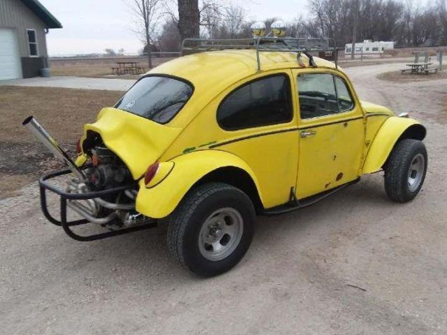 Baja Bug Beetle Dune Buggy - Classic 1966 Volkswagen Beetle