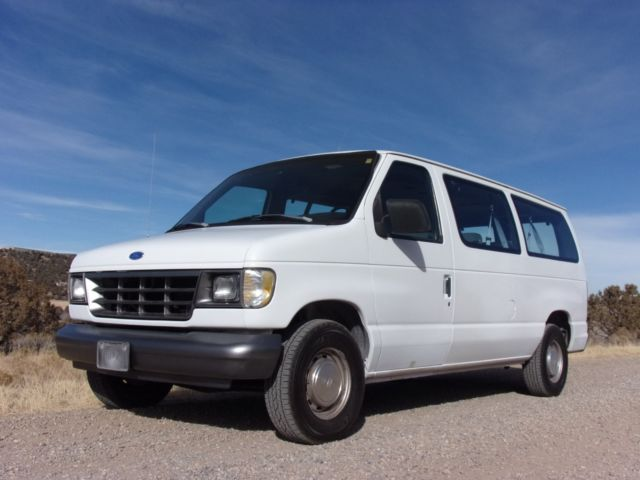 Barn Find 1993 Ford E150 Passenger Van 45K Miles DIY Camper Moto MAKE OFFER