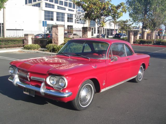 Beauty CA 1962 Chevy Corvair Monza Original Cond Rn LQQk Nice Real Classic