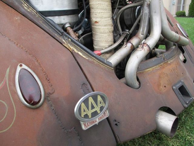 Beetle bug hot rod rat ride turbo airride chopped oval