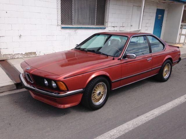 bmw 1981 635csi euro classic 1981 bmw 6 series 635 csi euro for sale