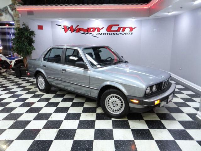 Windy City Motorsports >> BMW 325e E30 Sedan 1 Owner Stock & Original Sunroof Cold A ...