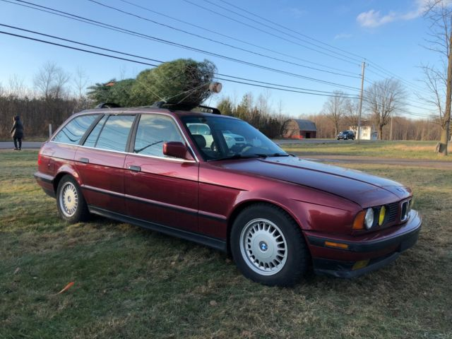 BMW 525i touring E34 with S52 engine and manual transmission