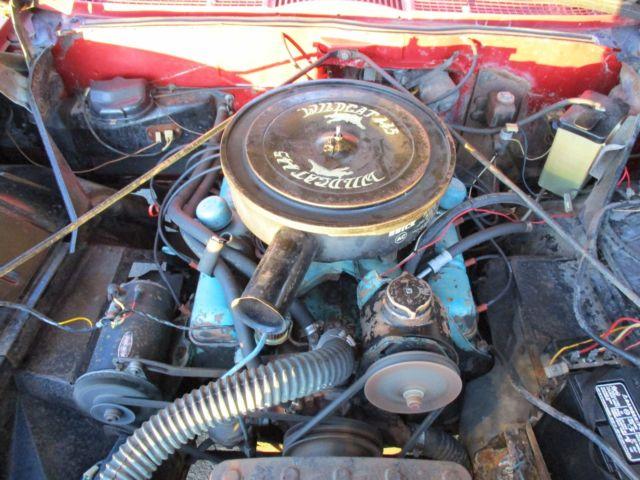 Bubble Top 445 Wildcat 401 400 Nailhead Classic 1961