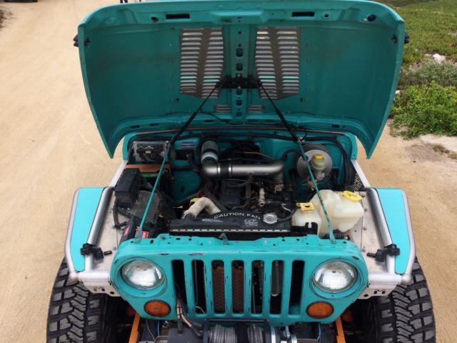 Built Jeep BRUTE Pickup Truck Conversion Wrangler 4x4 jk8 jk