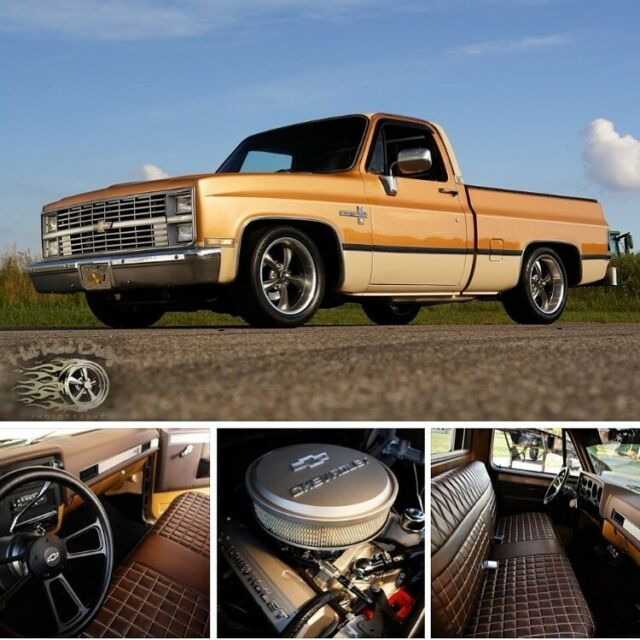 Cammed Slam'd Squarebody Silverado Chevy C10 Hot Rat