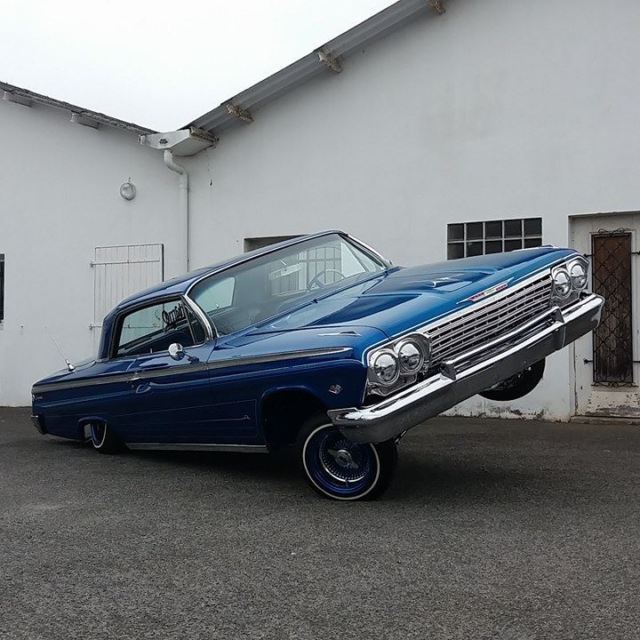 chevrolet impala 1962 SS lowrider showcar  - Classic 1962
