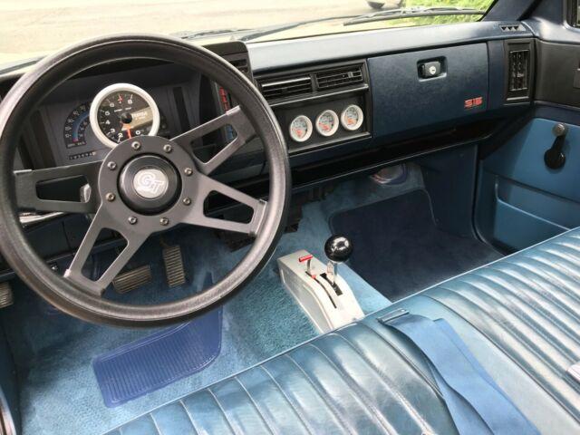 Chevrolet S10 GMC S15 SBC V8 - Classic 1987 Chevrolet S-10