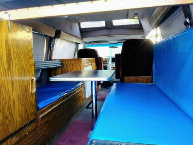 chevy g20 conversion camper van LOW MILES - Classic 1992