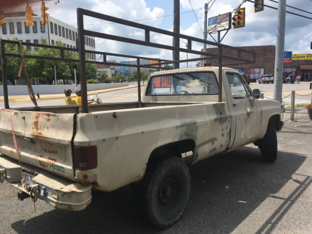 Chevy Truck 1 25 ton military m1008 - Classic 1986 Chevrolet