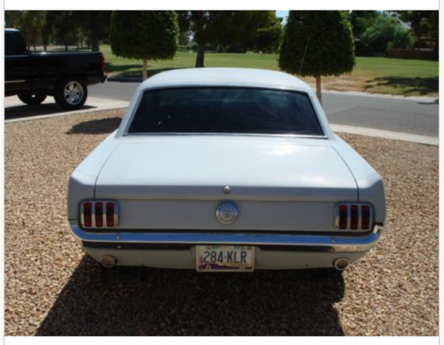 Classic Car   66 ford mustang 2 door coupe w/ A/C, 3pt seat