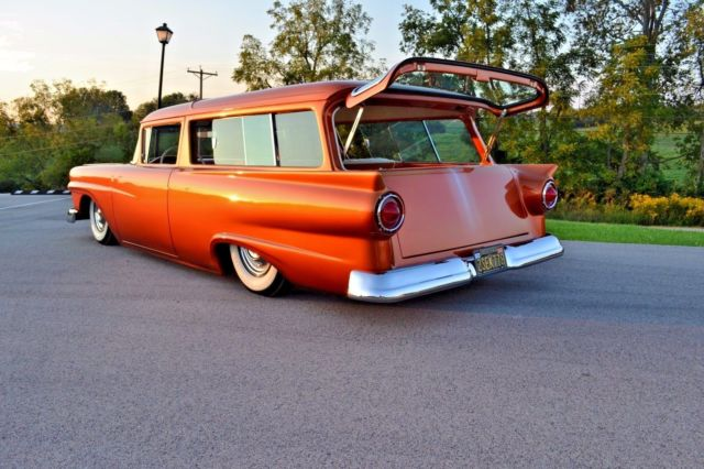 Custom 1957 Ford Ranch Wagon! Legendary Gene Winfield fade paint job