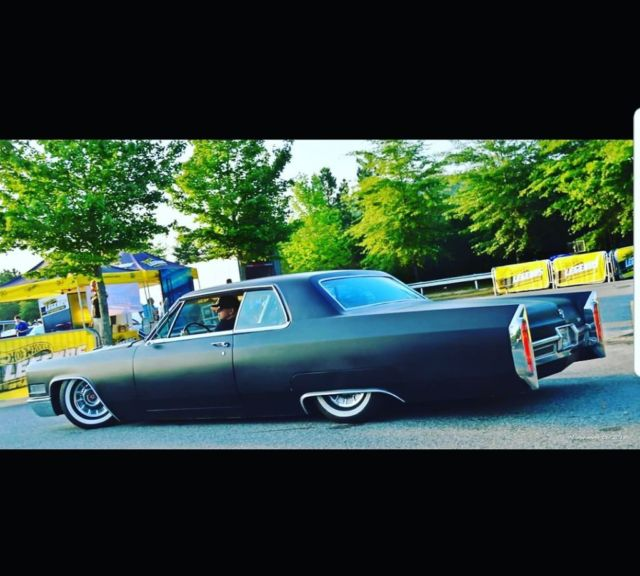 Custom Cadillac Deville For Sale: Custom 1966 Cadillac Coupe Deville On Air Ride