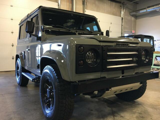 Defender 110 Ground up Build 4 0 with Automatic,AC - Classic