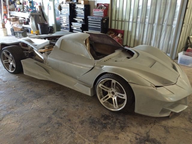 ER W70 Concept Car Fiberglass MOLDS For Sale, Build Your Own! Ferrari Style