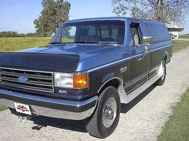 1991 f250 pickup xlt lariat rust florida looks ford mileage