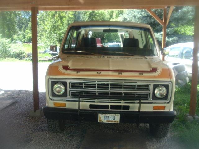 Ford E series van - 1978 CRUSIN' VAN E150 1/2 TON SHORTY - Classic