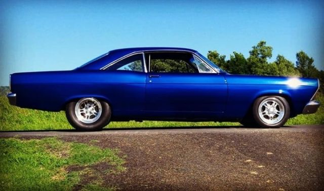 Ford Fairlane Royal Blue Pearl with 0 Miles, for sale