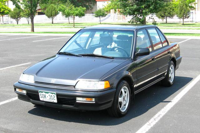 honda civic 1991 - Classic 1991 Honda Civic 4-Door Sedan