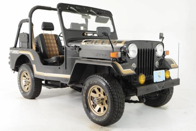Jeep CJ CJ-3B MITSUBISHI Turbo Diesel Like New 44K Miles ROXOR