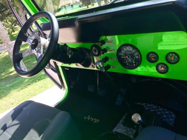 Jeep CJ7 Custom Frame off Restoration 4x4 304 V8 Tremec Dana