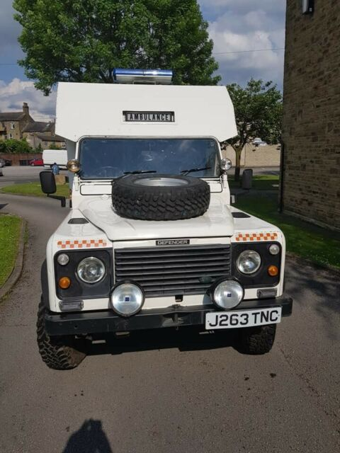 Land Rover Defender 130 3 5 V8 Ex Raf Ambulance Ideal