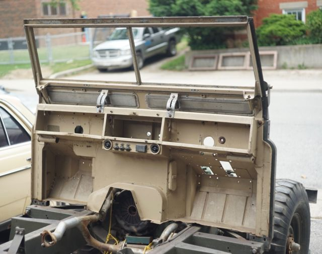 Land Rover Series II 109 with NOS Frame & Bulkhead - Classic 1973 ...