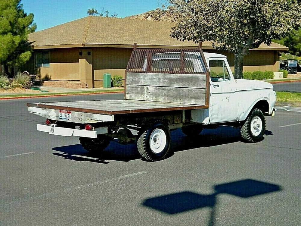 LOW RESERVE 4WD F100 Ranch Truck Solid Running Gear Very ...