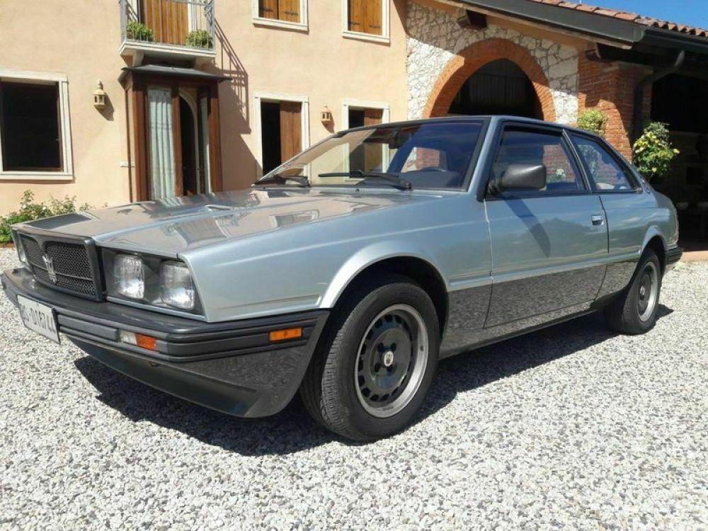 Maserati Biturbo S Coupè, 1985, 2 Intercooler, 205 CV, 31000 K - Classic 1980 Maserati Coupe