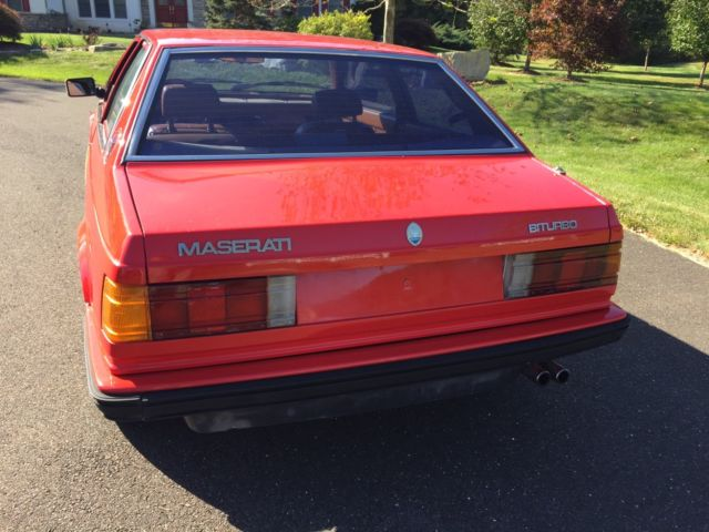 Maserati Biturbo - Classic 1985 Maserati Biturbo for sale