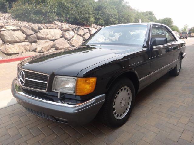 mercedes w126 560 sec - Classic 1989 Mercedes-Benz 500-Series for sale